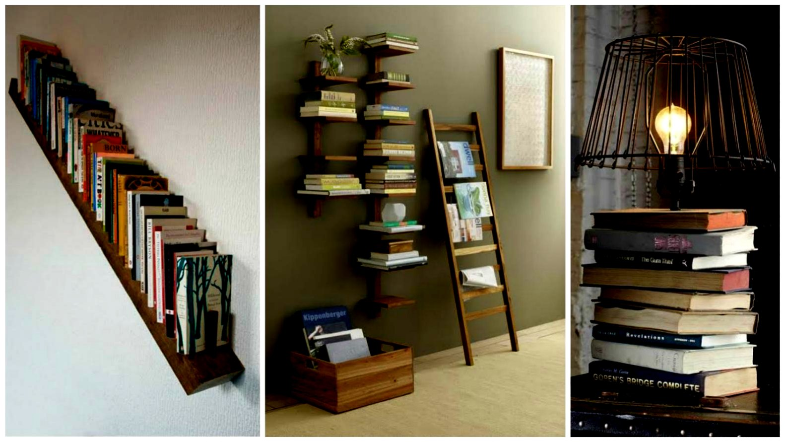 Ideas para decorar tu casa con libros